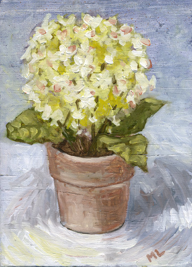 Fake Flowers, Real Painting!