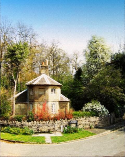 round house at Bath