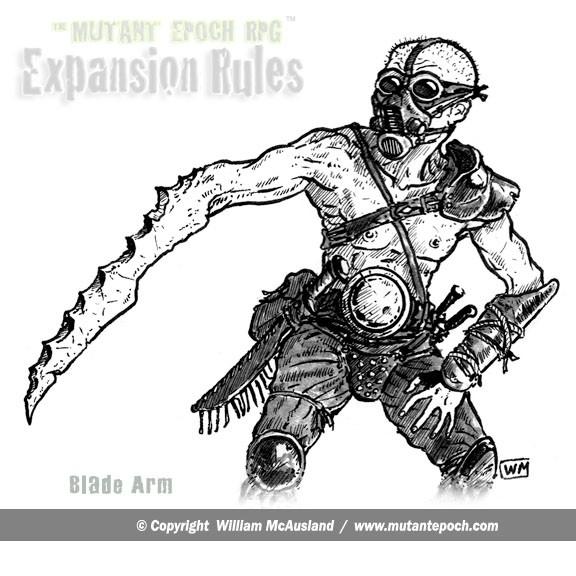 Blade Arm Mutation