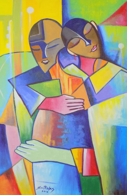 Affection Painting by smith olaoluwa 2