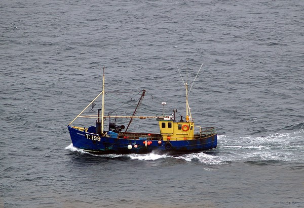 Trawling off the Dingle Peninsula-fine art photography