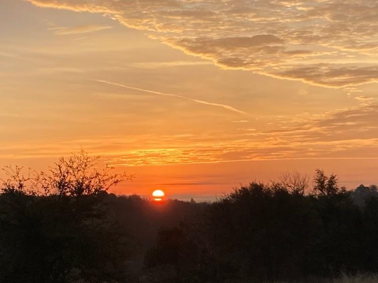 Sunrise over Fort Worth