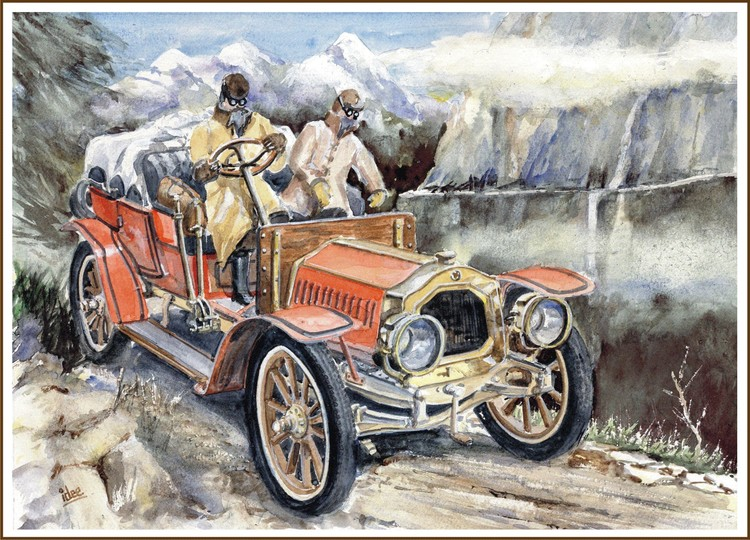 The Incredible Automobile Race of 1907 - 1