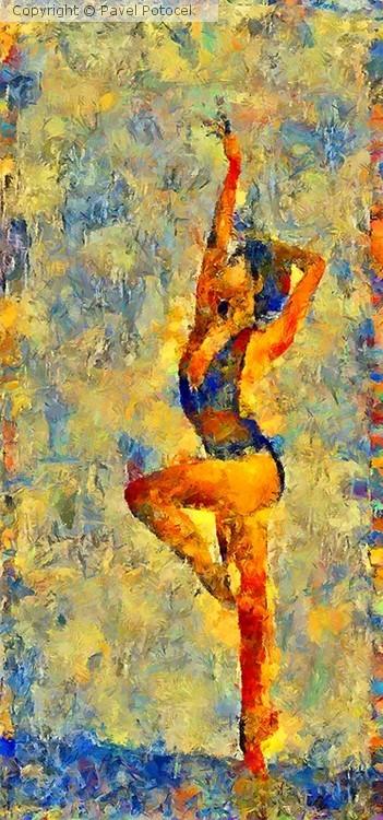 Ballet lesson I