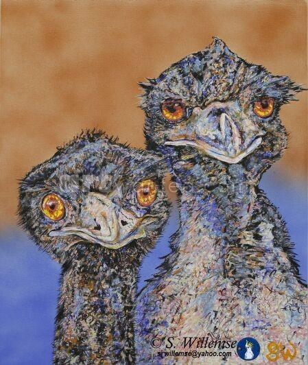 Mr. and Mrs. Emu