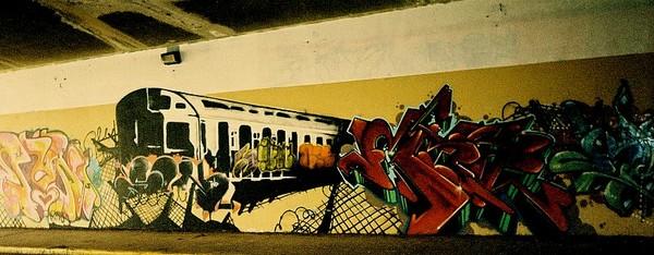 Graphite Art   The Train