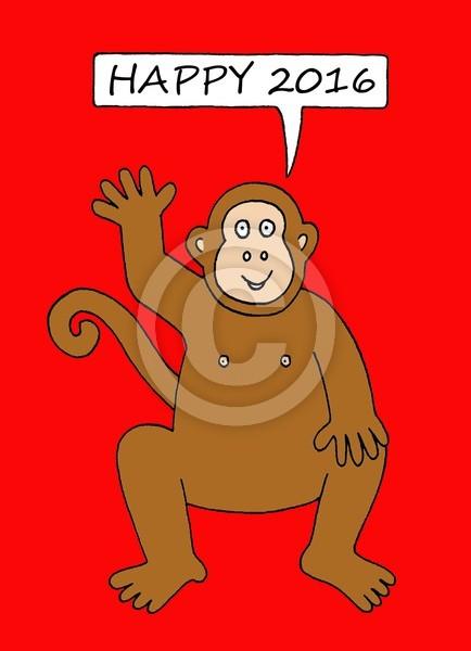 Happy 2016 year of the Monkey.