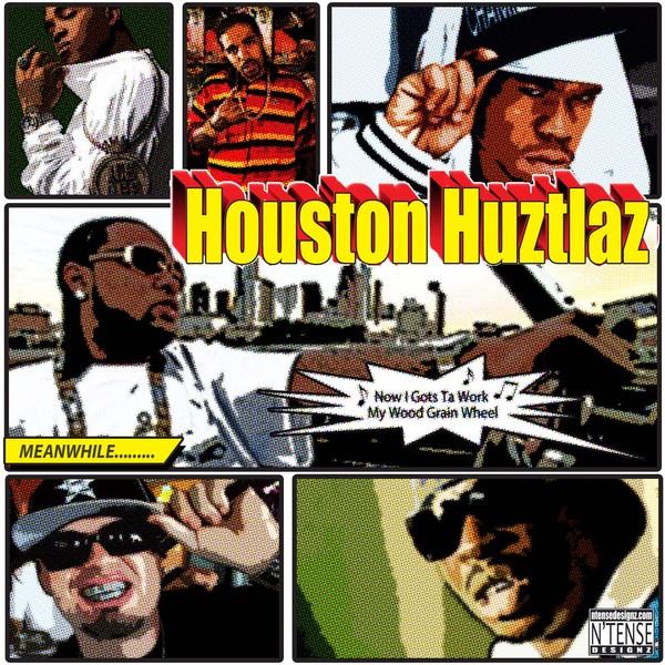 Houston Huztlaz Vol. ? CD Cover