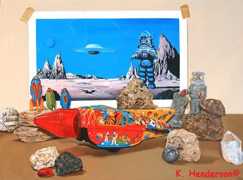 K. Henderson Celebrates National Science Fiction D