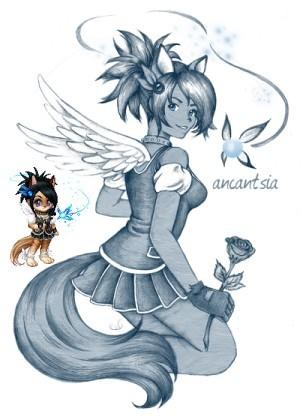 Gaia Online Avatar Art - Ancantsia