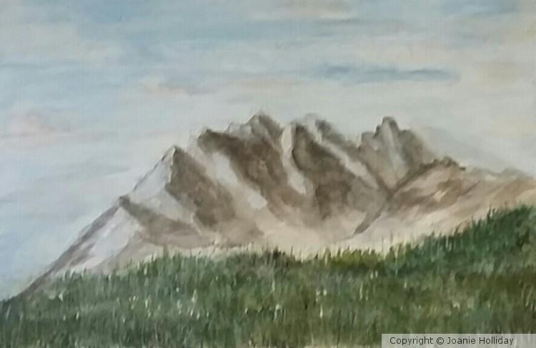Watercolor  4X6IN