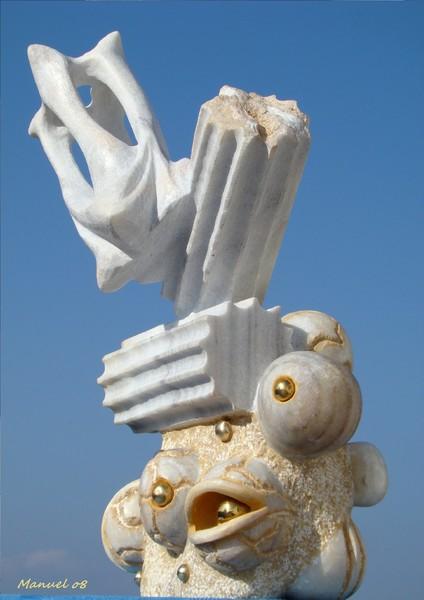 Atlantis 2008 surreal sculpture
