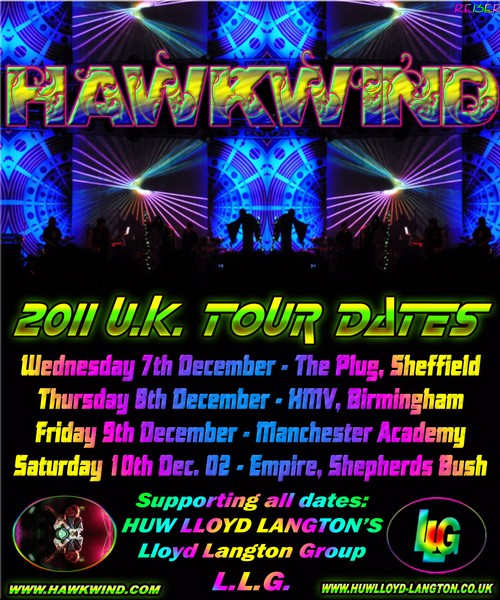 HawkWind POSTER 2011