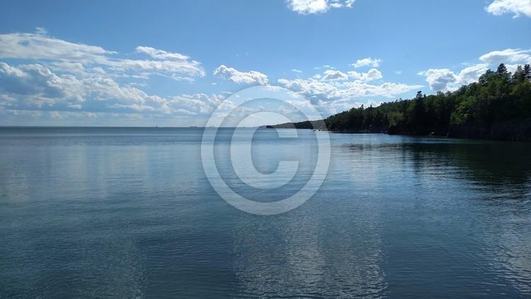 Duluth Shoreline of Lake Superior