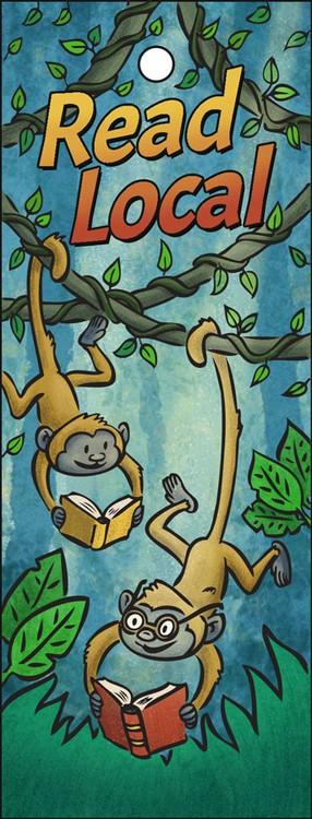 Reading Monkeys! | Client: SCBWI