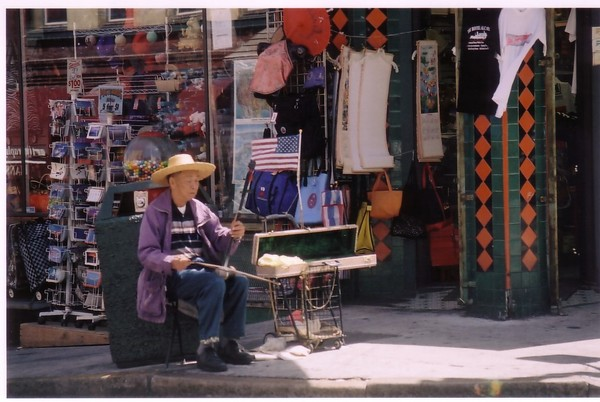 China Town Musician SF