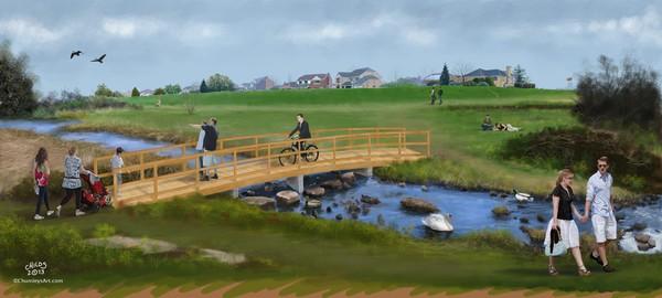 Colwick Park New Footbridge Proposals