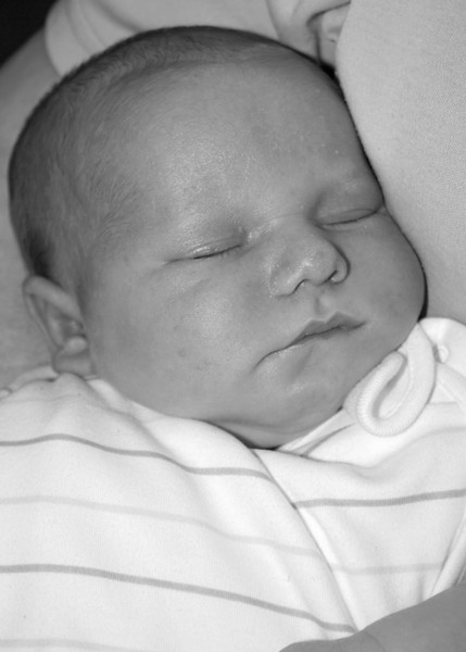 Dylan,my Grandson. (A Month old)