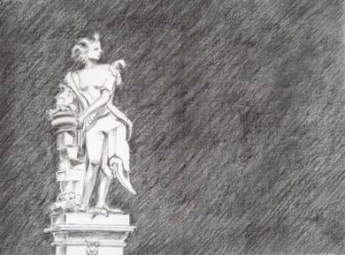 Sommer Statue
