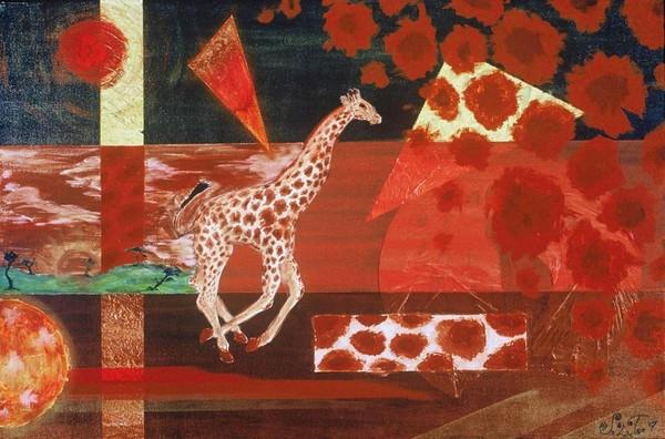 Giraffe Abstract