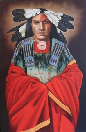 Moon Gazer II American Indian