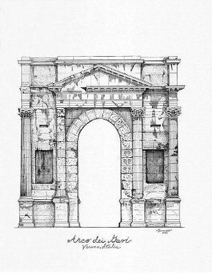 ARCH OF VERONA (ITALY)