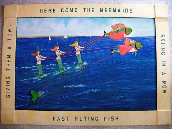 Mermaids Water Skiing