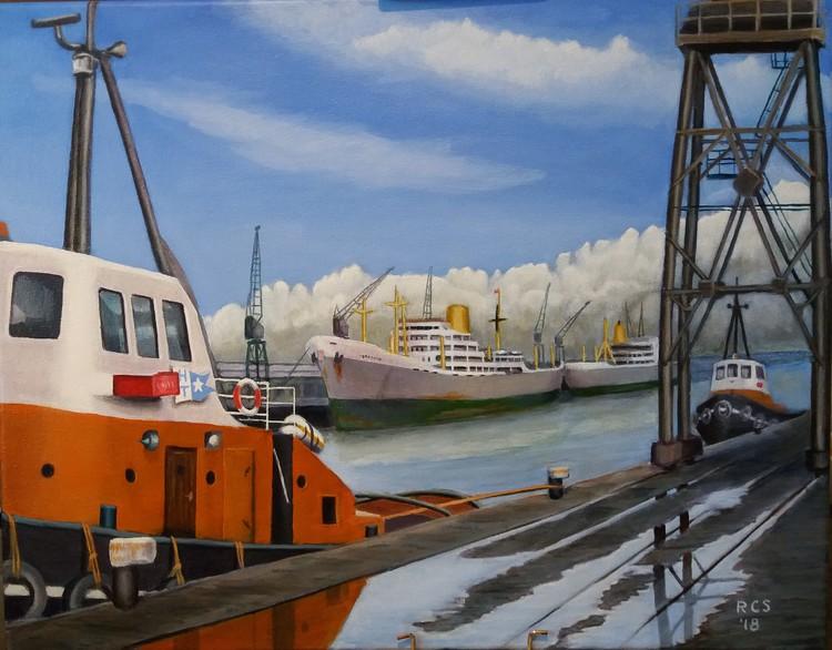 King George Docks' Hull