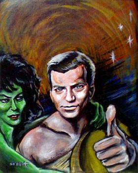 Captain Kirk's First Visit to Orion