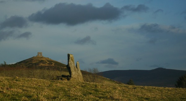 Dunnydeer And Standing Stone