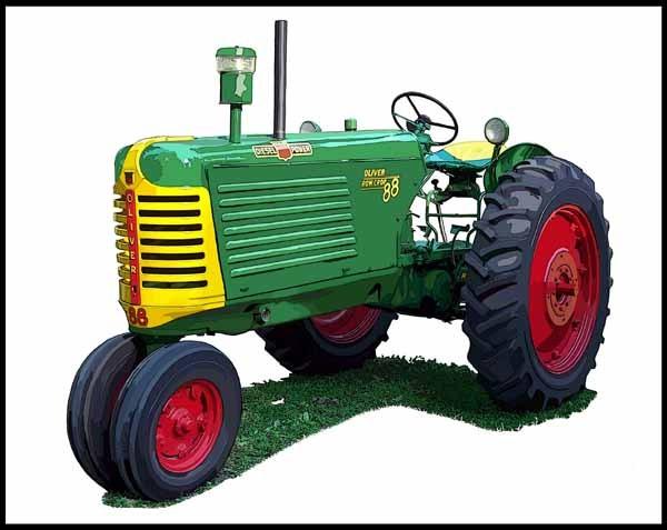 Oliver Model 88 Diesel