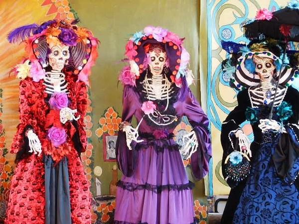Life size Catrina Dolls-Dia De Los Muertos