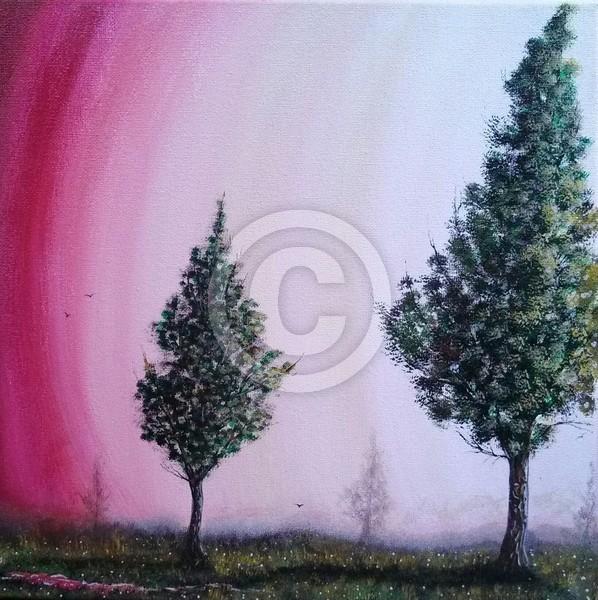 Mist Upon Trees