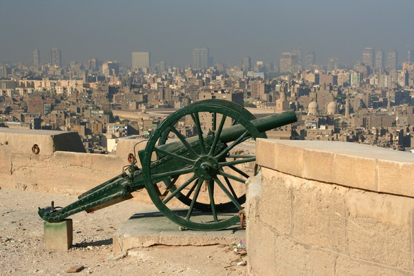 Overlooking Cairo from the Citadel of Salah-al-din