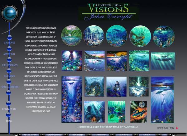 Oceanic & UnderSea Paintings by Enright