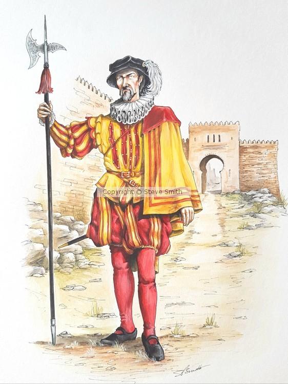 Spanish Halberdier