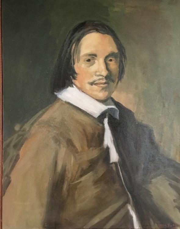 Portrait of Vincent Laurensz van der Vinne after Hals