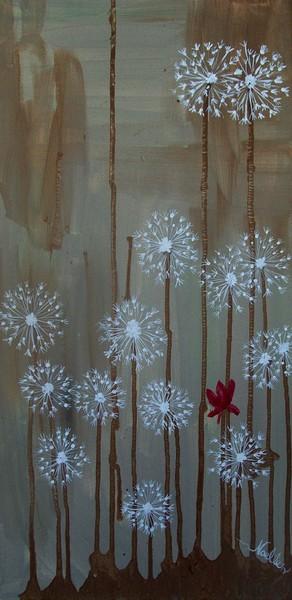 Soloist among the dandelions