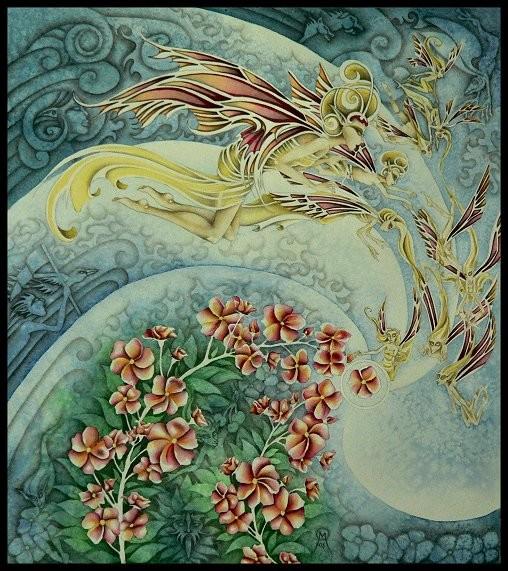 Cherry Blossom Faery III