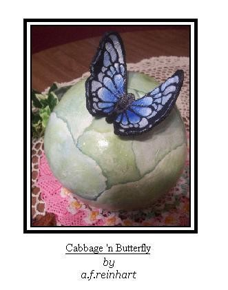 Cabbage 'n Butterfly