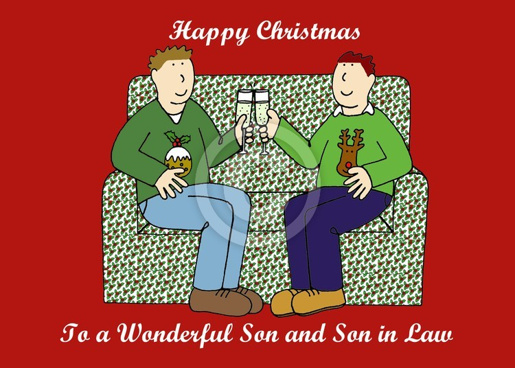 Happy Christmas Son and Son in Law