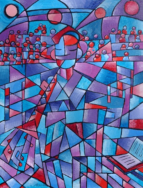 Recital (Red Oboe)