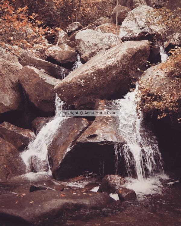 Small Waterfall, South Mountain State Park