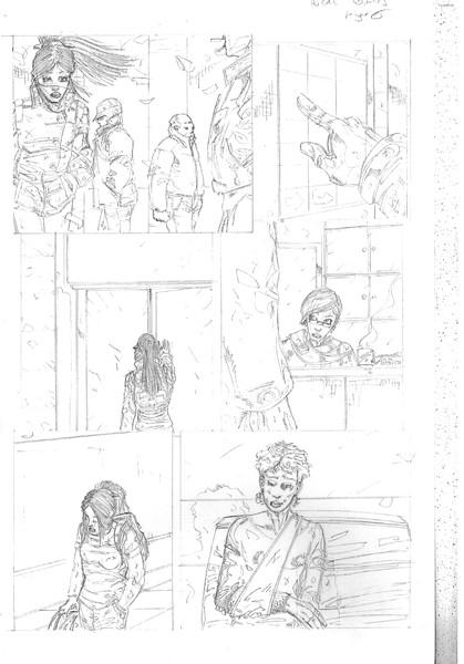 ideal comics page 6 pencil