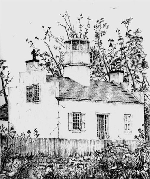 Cedar Point Lighthouse 1838