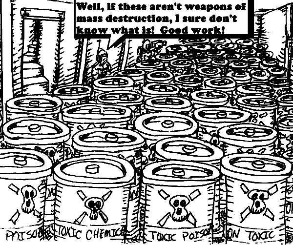 Weapons of Mass Destruction?