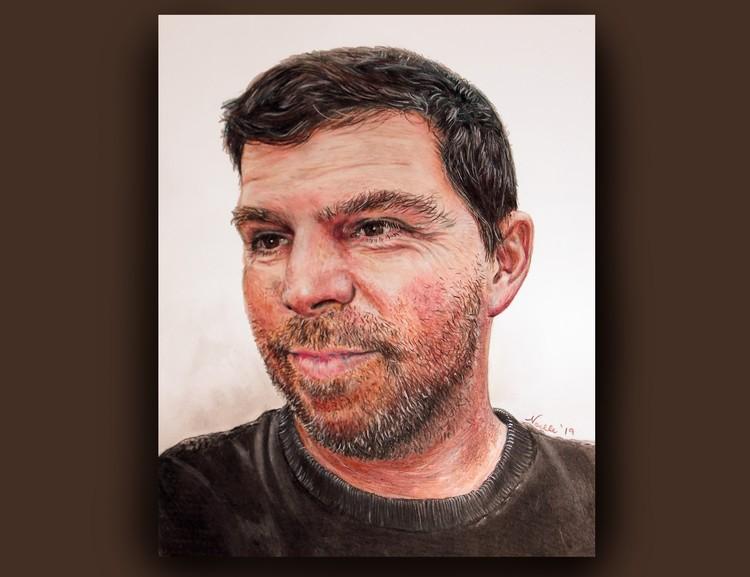 Bruce portrait art