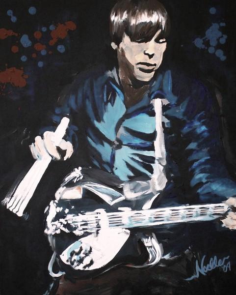 Tom Rehbein on Guitar