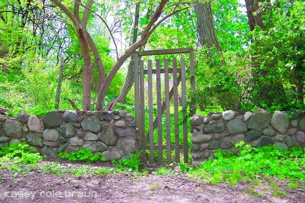 Stone Wall & Gate