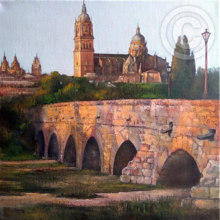 Atardecer en Salamanca